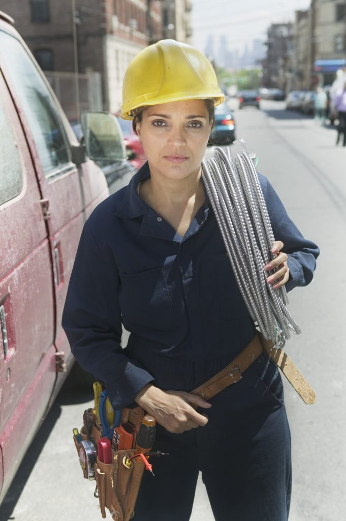 woman_construction_power_worker_shutterstock_95234563
