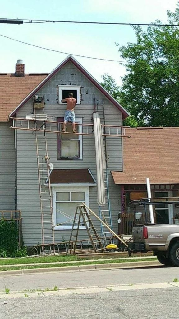 Creative Scaffolding - What NOT to Do