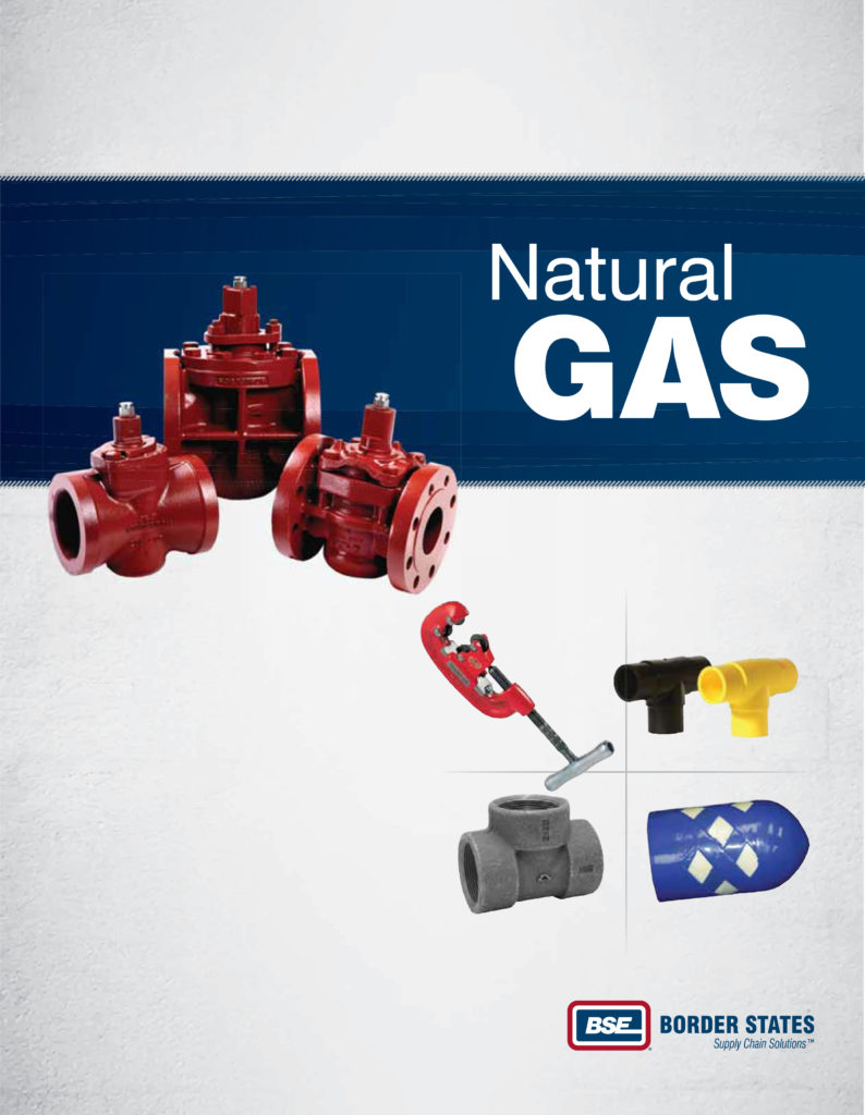 Cover page of Natural Gas Catalog