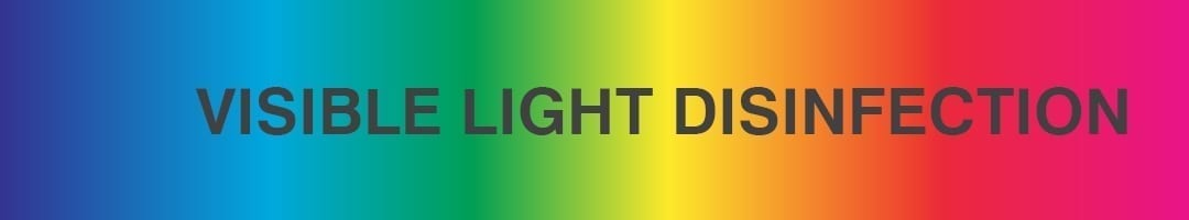 what is visible light disinfection