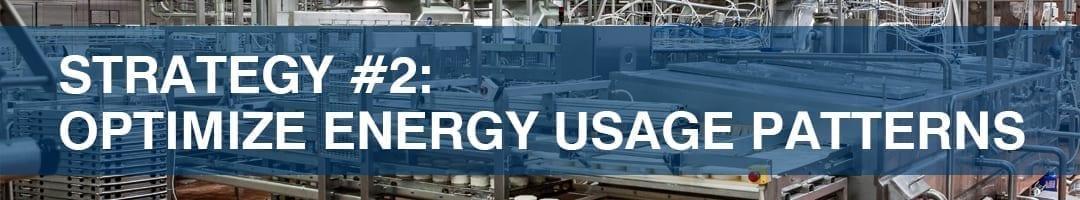 optimize energy usage patterns