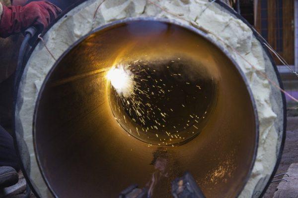 Induction heating welding