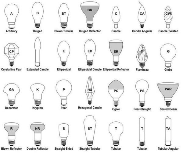 a comparison of modern lightbulbs