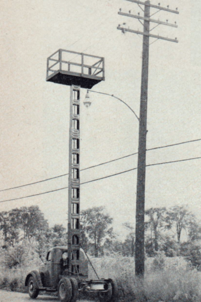 Linemen safety Holan aerial lift linemen images