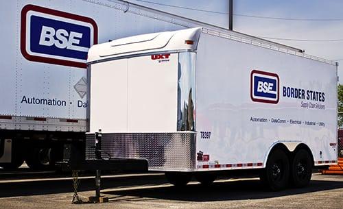 rent job site trailers