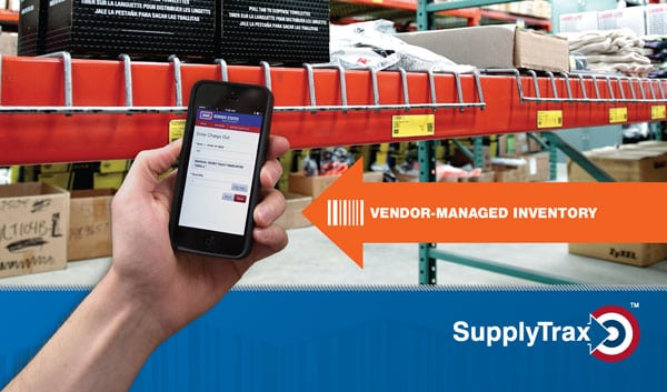 vendor-managed inventory process