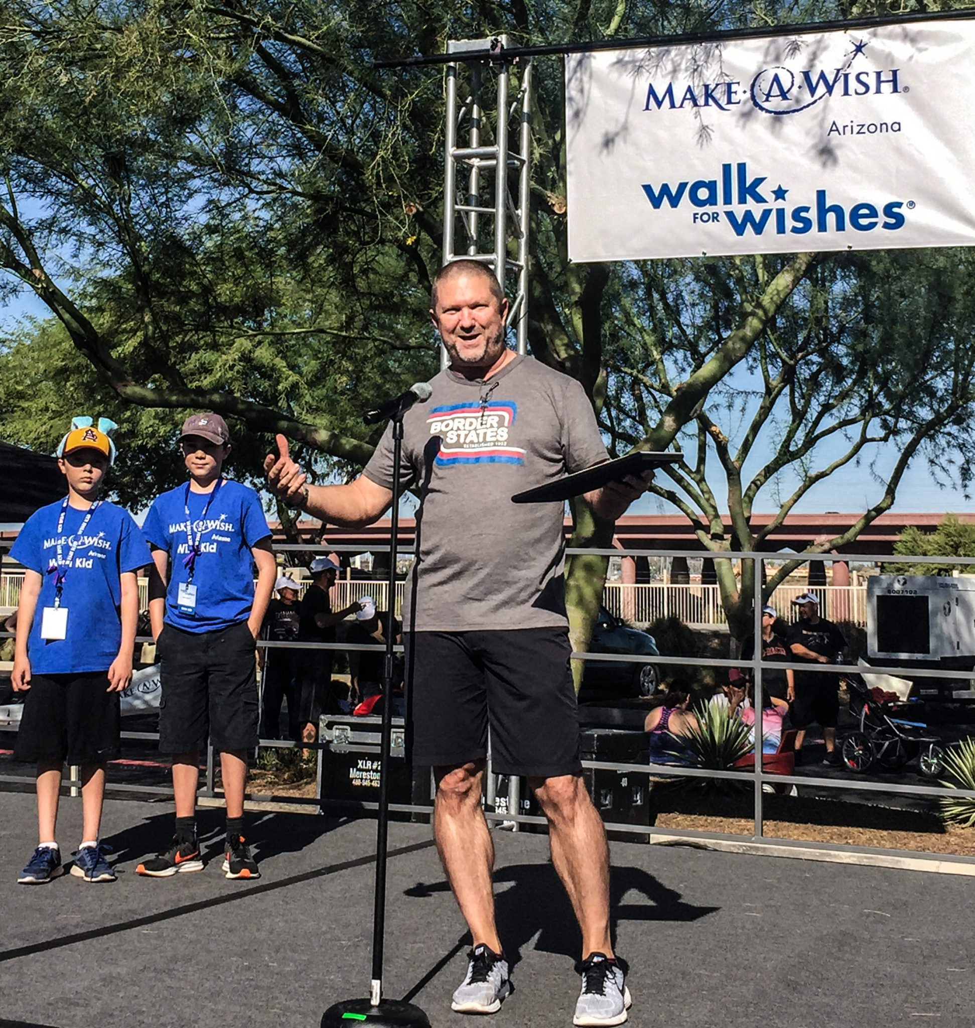 Tough shoes to fill: Employee-owner is top fundraiser for Make-A-Wish walk