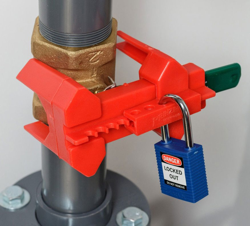 Keep maintenance workers safe with a custom lockout-tagout system