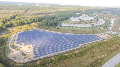 Large South Carolina solar farm