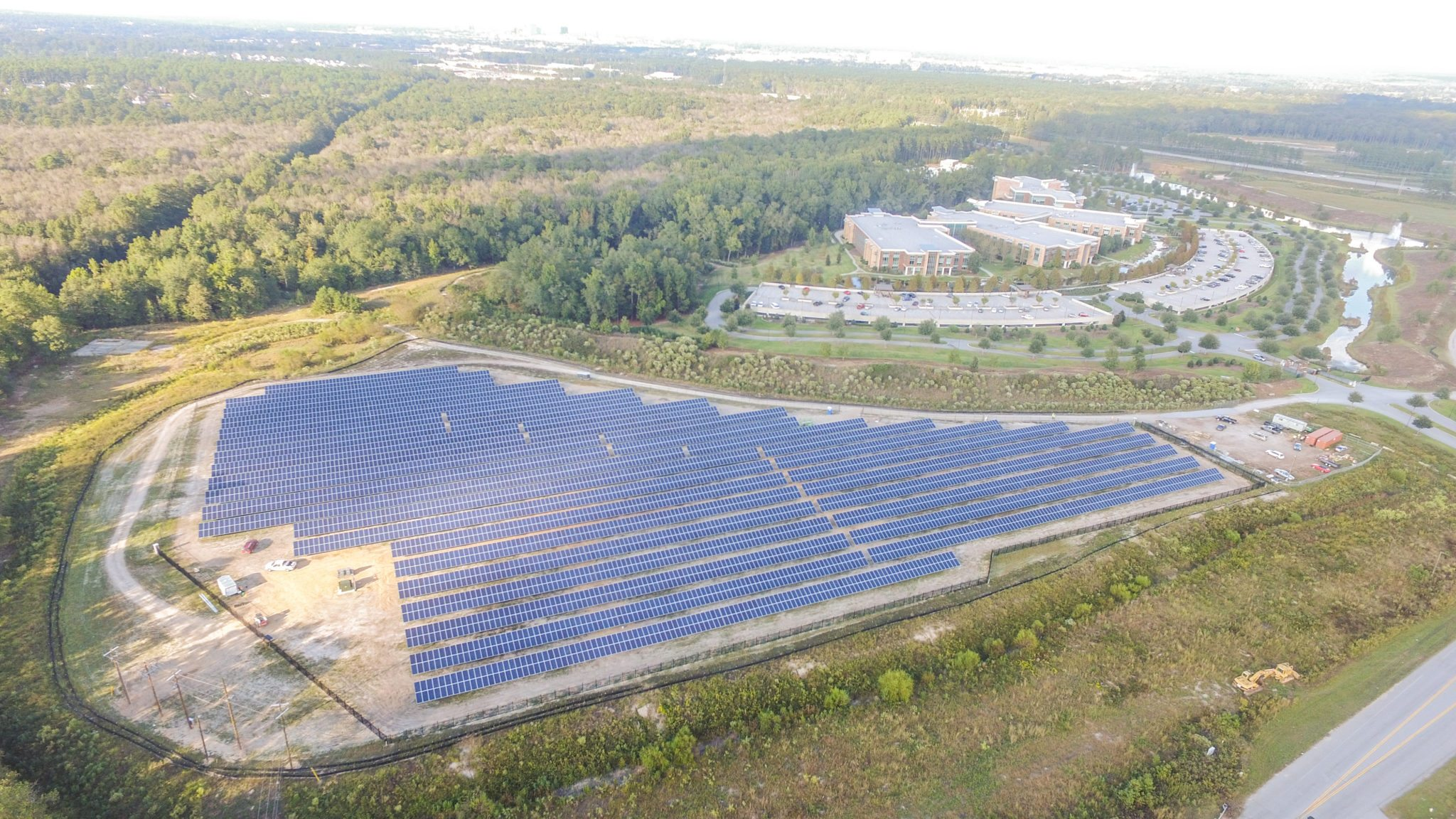 Large South Carolina solar farm achieved with Border States services