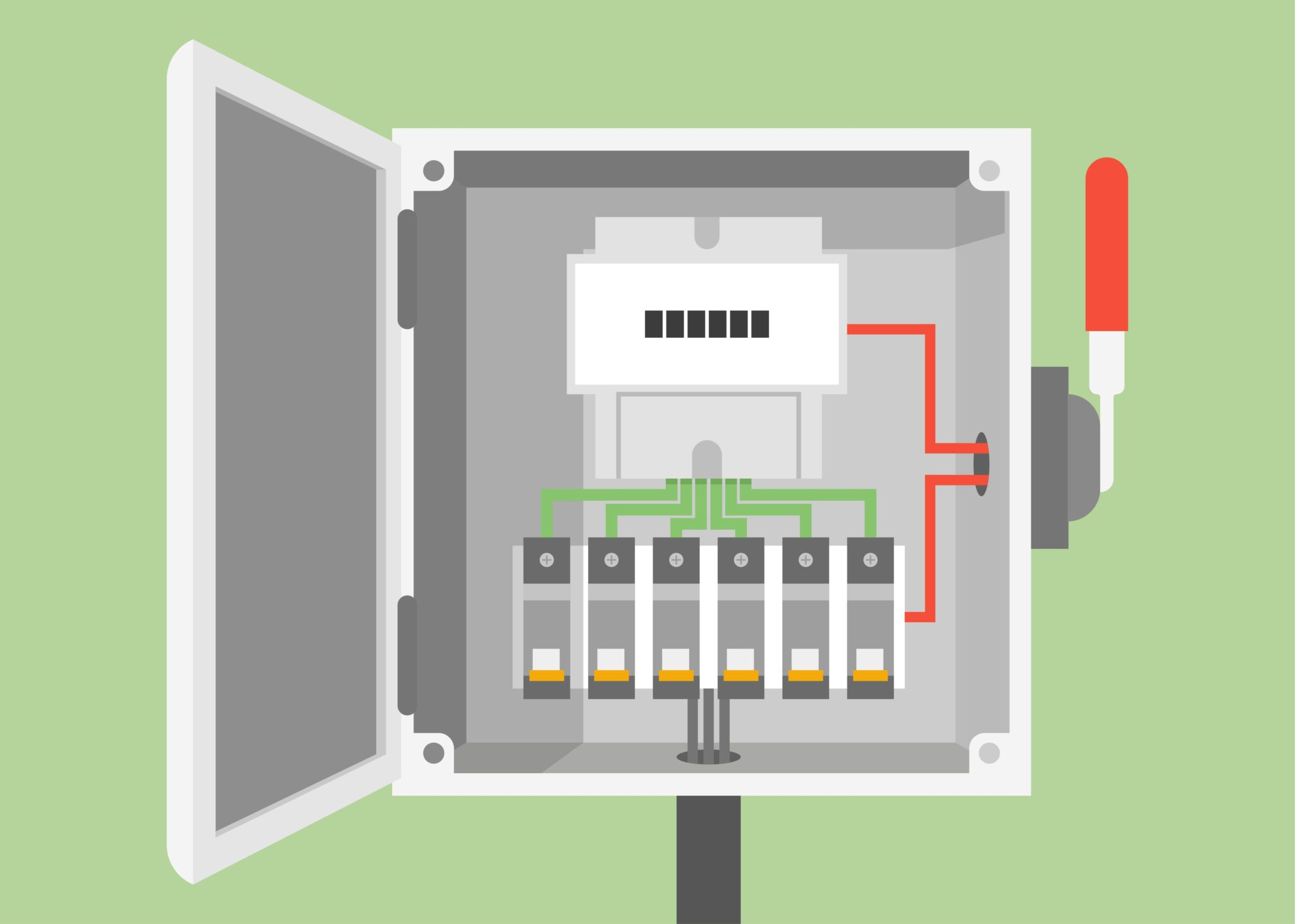 Fuse Box Safety Detailed Schematics Diagram Old Holders Electrical Panel Inspection Tips For Every Electrician Delay