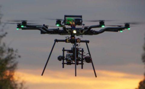 US drone testing