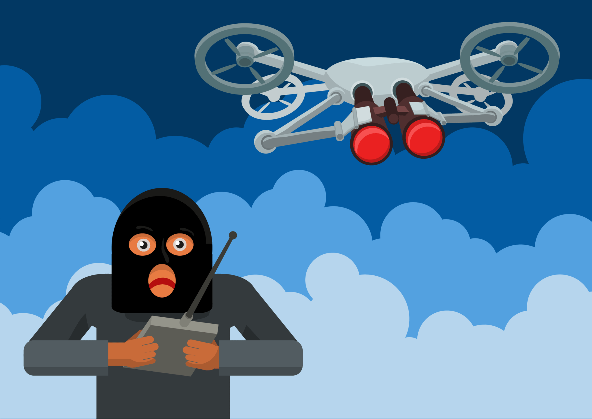 are drones safe from hackers