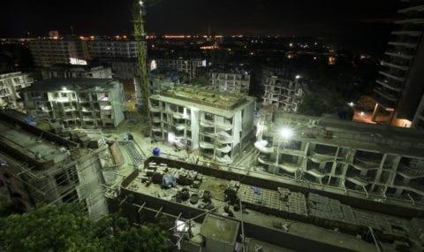 construction night work plan