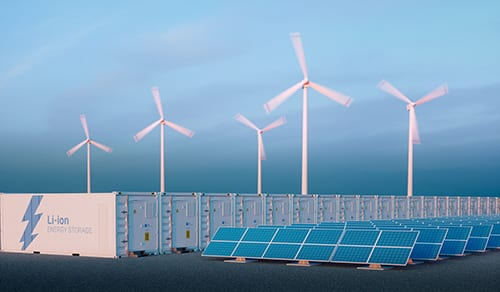 utility-scale battery storage