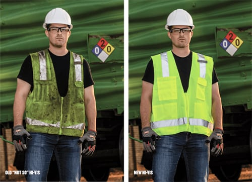 hi-vis clothing regulations