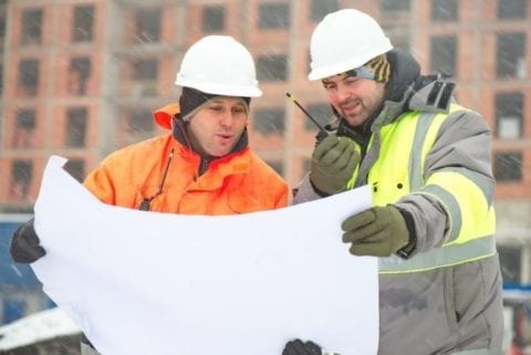 keep warm on construction sites